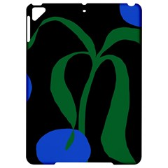 Flower Green Blue Polka Dots Apple Ipad Pro 9 7   Hardshell Case by Mariart