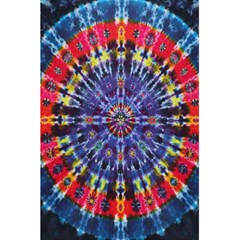 Circle Purple Green Tie Dye Kaleidoscope Opaque Color 5 5  X 8 5  Notebooks by Mariart