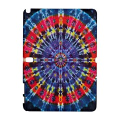 Circle Purple Green Tie Dye Kaleidoscope Opaque Color Galaxy Note 1 by Mariart