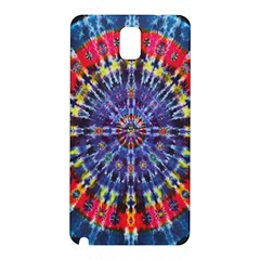 Circle Purple Green Tie Dye Kaleidoscope Opaque Color Samsung Galaxy Note 3 N9005 Hardshell Back Case by Mariart