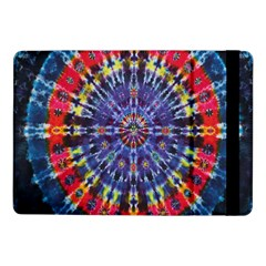 Circle Purple Green Tie Dye Kaleidoscope Opaque Color Samsung Galaxy Tab Pro 10 1  Flip Case by Mariart