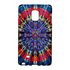 Circle Purple Green Tie Dye Kaleidoscope Opaque Color Galaxy Note Edge by Mariart