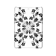 Floral Element Black White Ipad Mini 2 Hardshell Cases by Mariart