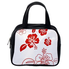 Hawaiian Flower Red Sunflower Classic Handbags (one Side) by Mariart