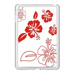 Hawaiian Flower Red Sunflower Apple Ipad Mini Case (white) by Mariart