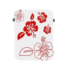 Hawaiian Flower Red Sunflower Apple Ipad 2/3/4 Protective Soft Cases by Mariart
