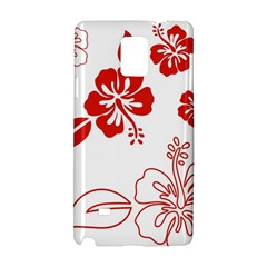 Hawaiian Flower Red Sunflower Samsung Galaxy Note 4 Hardshell Case by Mariart