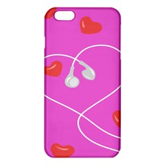 Heart Love Pink Red Iphone 6 Plus/6s Plus Tpu Case by Mariart