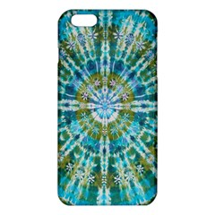 Green Flower Tie Dye Kaleidoscope Opaque Color Iphone 6 Plus/6s Plus Tpu Case by Mariart
