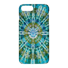 Green Flower Tie Dye Kaleidoscope Opaque Color Apple Iphone 7 Plus Hardshell Case by Mariart