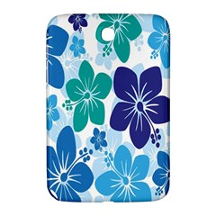 Hibiscus Flowers Green Blue White Hawaiian Samsung Galaxy Note 8 0 N5100 Hardshell Case  by Mariart