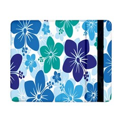 Hibiscus Flowers Green Blue White Hawaiian Samsung Galaxy Tab Pro 8 4  Flip Case by Mariart