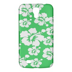 Hibiscus Flowers Green White Hawaiian Samsung Galaxy Mega 6 3  I9200 Hardshell Case by Mariart