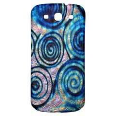 Green Blue Circle Tie Dye Kaleidoscope Opaque Color Samsung Galaxy S3 S Iii Classic Hardshell Back Case by Mariart