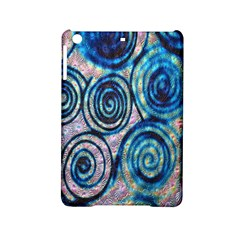 Green Blue Circle Tie Dye Kaleidoscope Opaque Color Ipad Mini 2 Hardshell Cases by Mariart