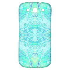 Green Tie Dye Kaleidoscope Opaque Color Samsung Galaxy S3 S Iii Classic Hardshell Back Case by Mariart