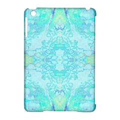 Green Tie Dye Kaleidoscope Opaque Color Apple Ipad Mini Hardshell Case (compatible With Smart Cover) by Mariart