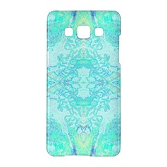 Green Tie Dye Kaleidoscope Opaque Color Samsung Galaxy A5 Hardshell Case  by Mariart