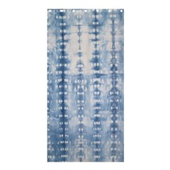 Indigo Grey Tie Dye Kaleidoscope Opaque Color Shower Curtain 36  X 72  (stall)  by Mariart
