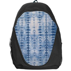 Indigo Grey Tie Dye Kaleidoscope Opaque Color Backpack Bag by Mariart