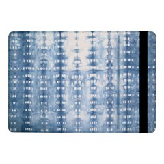 Indigo Grey Tie Dye Kaleidoscope Opaque Color Samsung Galaxy Tab Pro 10 1  Flip Case by Mariart