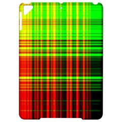 Line Light Neon Red Green Apple Ipad Pro 9 7   Hardshell Case by Mariart
