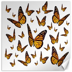 Butterfly Spoonflower Canvas 12  X 12