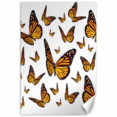 Butterfly Spoonflower Canvas 24  X 36  by Mariart