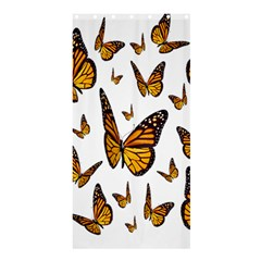 Butterfly Spoonflower Shower Curtain 36  X 72  (stall)  by Mariart