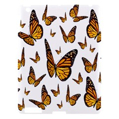 Butterfly Spoonflower Apple Ipad 3/4 Hardshell Case by Mariart