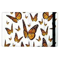 Butterfly Spoonflower Apple Ipad 3/4 Flip Case by Mariart