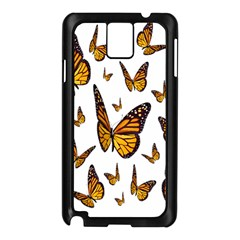 Butterfly Spoonflower Samsung Galaxy Note 3 N9005 Case (black) by Mariart