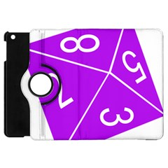 Number Purple Apple Ipad Mini Flip 360 Case by Mariart
