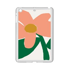 Peach Sunflower Flower Pink Green Ipad Mini 2 Enamel Coated Cases by Mariart