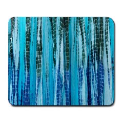 Line Tie Dye Green Kaleidoscope Opaque Color Large Mousepads by Mariart