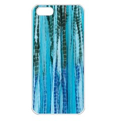 Line Tie Dye Green Kaleidoscope Opaque Color Apple Iphone 5 Seamless Case (white) by Mariart
