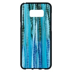 Line Tie Dye Green Kaleidoscope Opaque Color Samsung Galaxy S8 Plus Black Seamless Case by Mariart