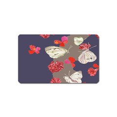 Original Butterfly Carnation Magnet (name Card)