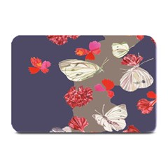 Original Butterfly Carnation Plate Mats by Mariart