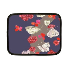 Original Butterfly Carnation Netbook Case (small)  by Mariart