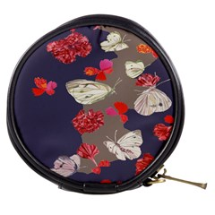 Original Butterfly Carnation Mini Makeup Bags by Mariart