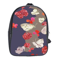 Original Butterfly Carnation School Bags(large)