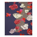 Original Butterfly Carnation Shower Curtain 60  x 72  (Medium)  54.25 x65.71  Curtain