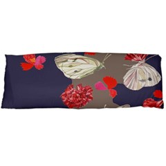 Original Butterfly Carnation Body Pillow Case Dakimakura (two Sides) by Mariart