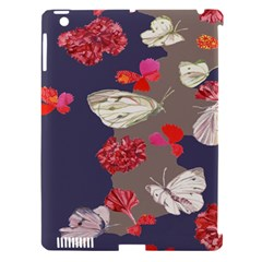 Original Butterfly Carnation Apple Ipad 3/4 Hardshell Case (compatible With Smart Cover) by Mariart