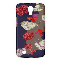 Original Butterfly Carnation Samsung Galaxy Mega 6 3  I9200 Hardshell Case by Mariart