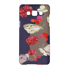 Original Butterfly Carnation Samsung Galaxy A5 Hardshell Case  by Mariart