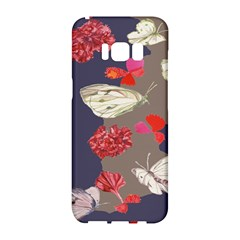 Original Butterfly Carnation Samsung Galaxy S8 Hardshell Case