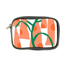 Portraits Plants Carrot Polka Dots Orange Green Coin Purse by Mariart