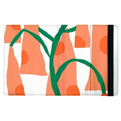Portraits Plants Carrot Polka Dots Orange Green Apple Ipad Pro 12 9   Flip Case by Mariart